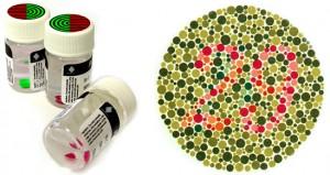 Renk körlüğü için lens