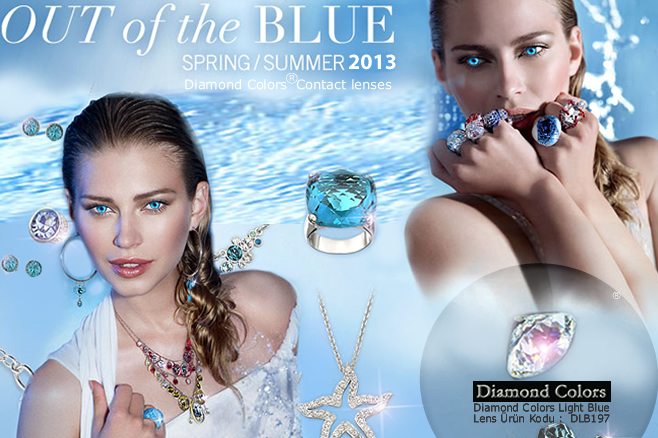 diamond colors spring summer out blue
