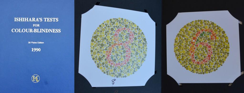 sahte renk körlüğü test kitabı